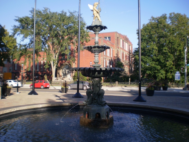 Fountain in Fredericton